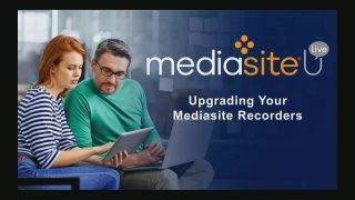 Training Showcase - Mediasite U Live